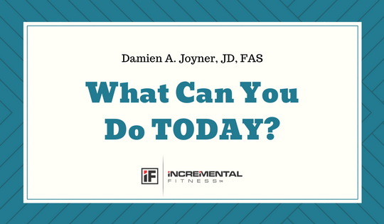 What can you do TODAY? blog